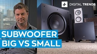Big Subwoofer vs Small Subwoofer: Comparison
