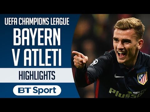 Bayern Munich 2-1 Atletico Madrid (agg: 2-2) |  Highlights and Goals | UEFA Champions League
