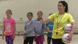 Coaching Children - Netball Rounders