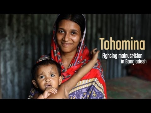 Tohomina: Fighting malnutrition in Bangladesh