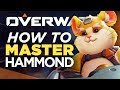 10 Ways To MASTER Hammonds Movement - Overwatch Wrecking Ball Rollouts Guide