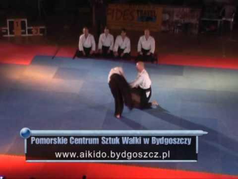 Bydgoski Festiwal Sztuk Walki - Pokaz Aikido PCSW