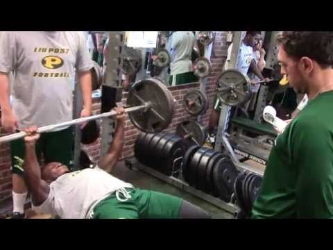 LIU Post Football 2014 Fall Camp Ft. Lee Rubin