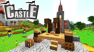 GALGEN! Burgtürme! Stadtplanung! - Minecraft CASTLE #9 - Ancient Warfare 2 Mod