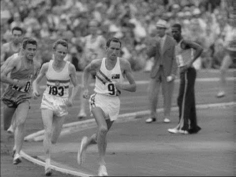 The Unbeatable Herb Elliot - Men's 1,500m   Rome 1960 Olympics
