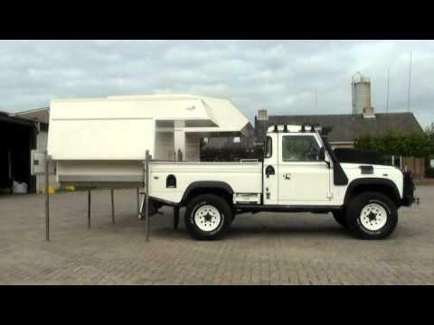 Landrover Defender 110 Hcpu Met Twee Solo Camper