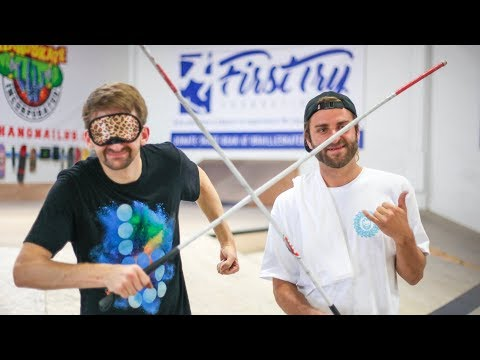 A BLIND SKATEBOARDER?! | AARON KYRO VS. BLIND RIDER