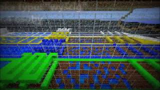 MINECRAFT MAPKA PARKOUR MAP PL #5 wyścig na 4 osoby (download)