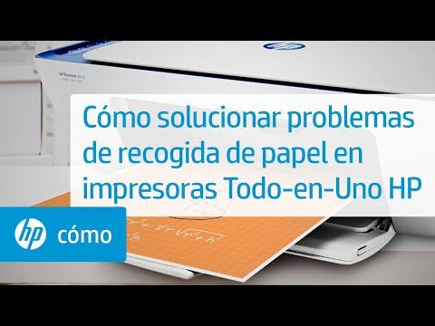 Cómo solucionar problemas de recogida de papel en impresoras Todo-en-Uno HP   HP DeskJet @HPSupport