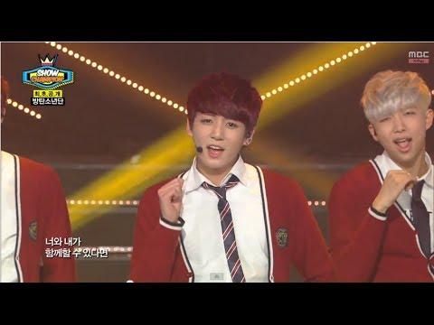 BTS - Just One Day, 방탄소년단 - 하루만, Show Champion 20140409