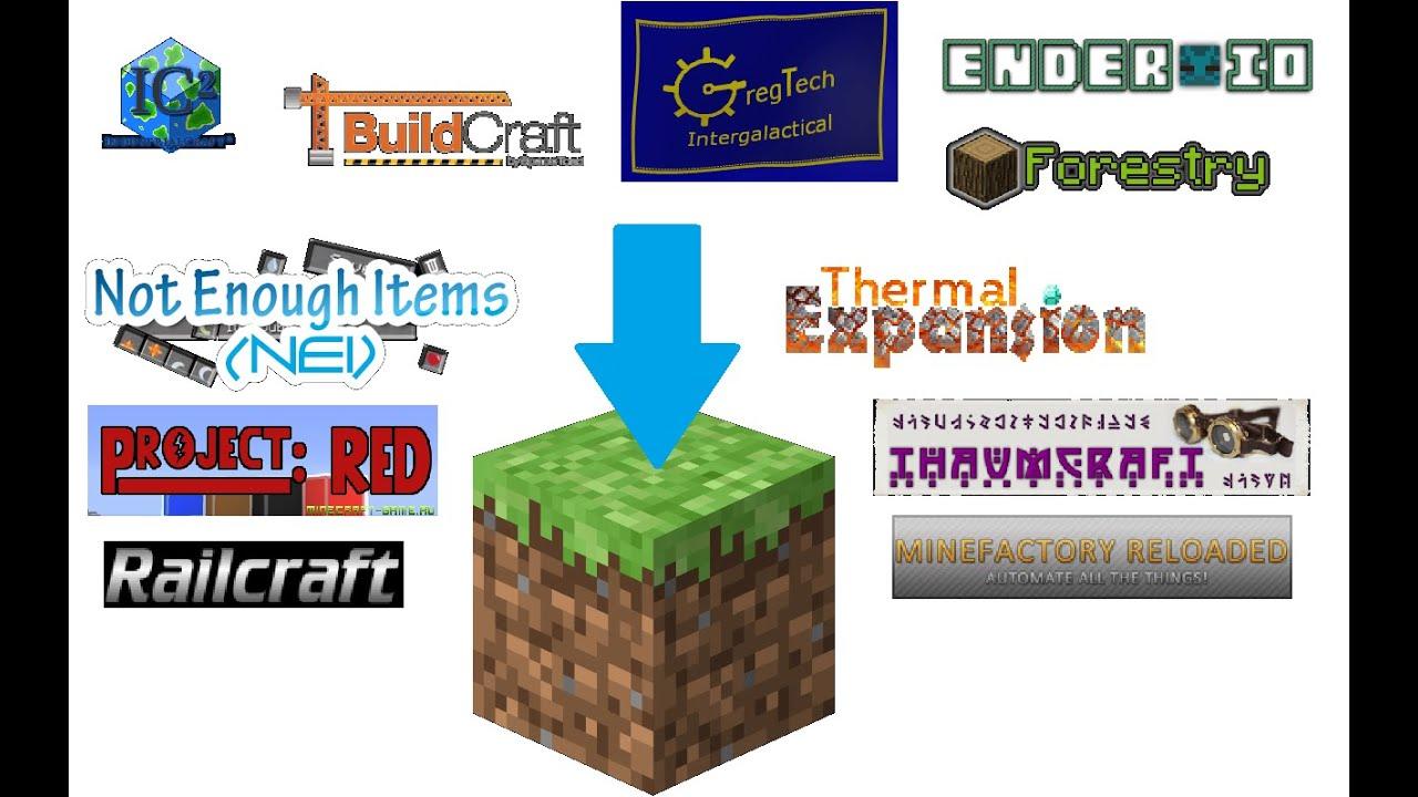 Как собрать свою сборку модов на Minecraft - YouTube