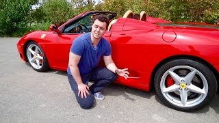 Gated Manual Ferrari 360 Spider Review!