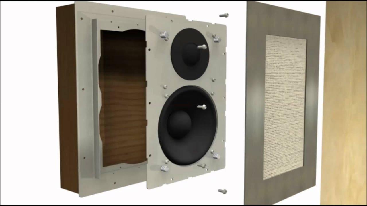 Diffusori incasso filo muro flush mount in wall speakers for Flush with the wall