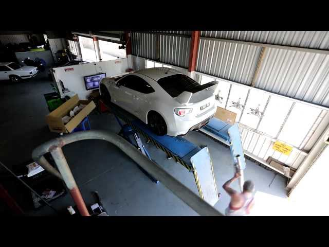 Toyota 86 GTS with HKS Exhaust Sound test and install