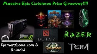 Epic Gaming Contest(Tons of Prizes) + Shinobi T-Shirts?