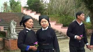 Hat sli gặp bạn của dân tộc nùng huyện Bình Gia tỉnh LS
