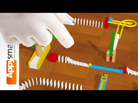 Marble Machine Toy for iPad and Android - puzzle app for kids demo