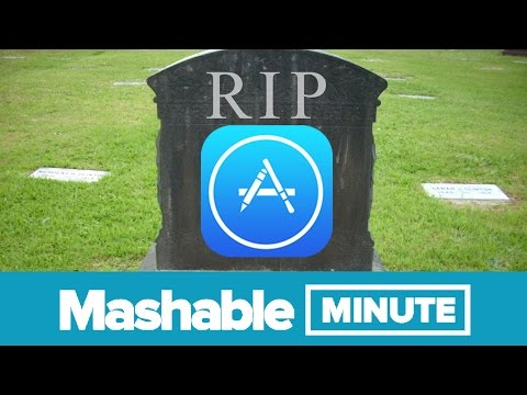 The App Apocalypse Is Upon Us! | Mashable Minute | With Elliott Morgan