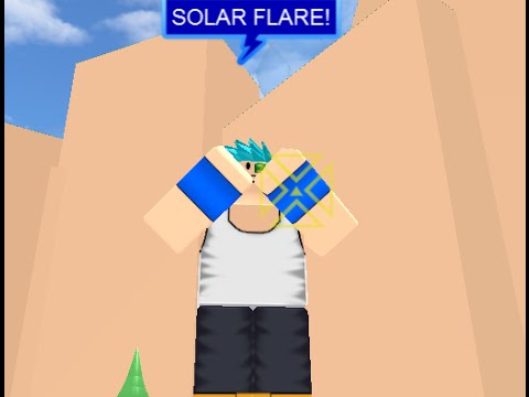 (roblox) How To Use/Get Solar Flare at DBFA
