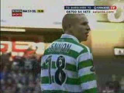 Celtic player Neil Lennon - The Lurgan Bigot