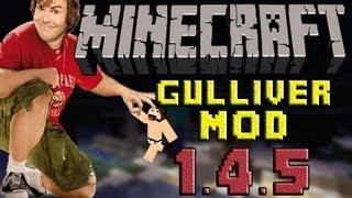 minecraft Mini Mods capitulo especial: Descargar e Instalar Gulliver mod para Minecraft 1.4.5