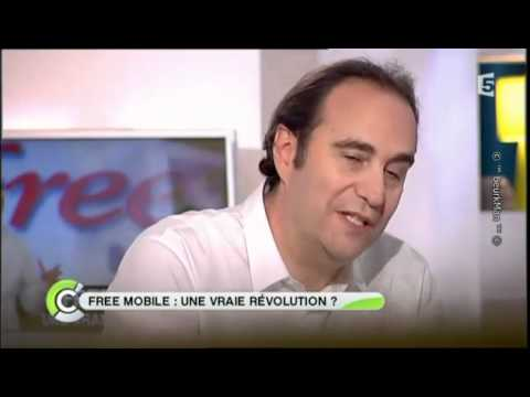FreeMobile: Interview de Xavier Niel sur France 5