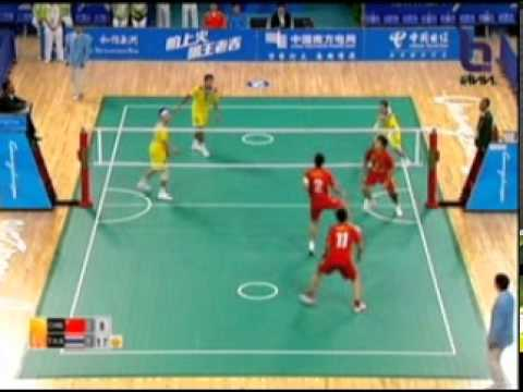 Sepak Takraw(Man) @2010 Asian Games - Thailand vs China 4/4