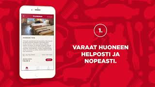 Sokos Hotels -mobiilisovellus (suomi)