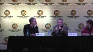 Austin Comic Con 2013 - Tales from the Enterprise with Scott Bakula and William Shatner