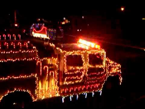 Ronkonkoma Fire Department Parade of Lights at Sachem North