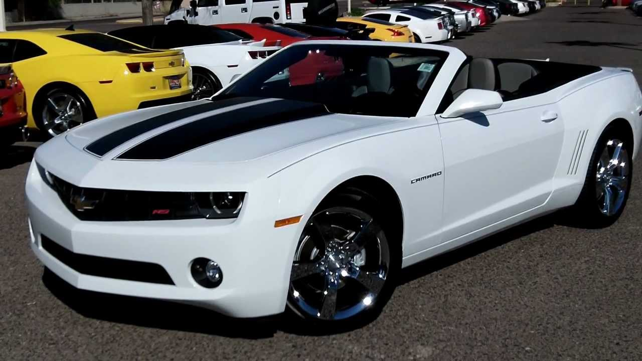 2011 Chevy Camaro 2lt Rs Convertible 4k Miles Lund