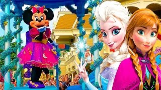 МИННИ МАУС и ДИСНЕЙЛЕНД ПАРИЖ #5 ПАРАД  Мультики Дисней Видео МИННИ МАУС Paris Disneyland Park KIDS