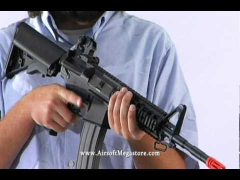 Airsoft Megastore - G&G Raider-Series Blowback GR15 / M4 RIS AEG Rifle Airsoft Gun Review