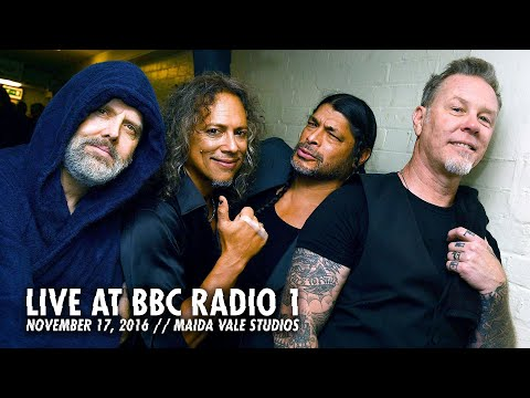 Metallica - Live At BBC Radio 1 (November 17, 2016)