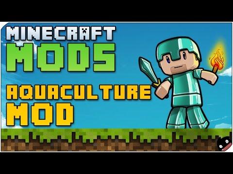 Minecraft Mods 16 - Aquaculture (1.6.4) Pescar no tiene porque aburrir
