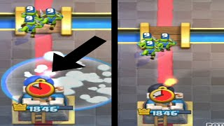CAN YOU FREEZE A GIANT SKELETONS BOMB!? CLASH ROYALE MYTHS BUSTERS   #1