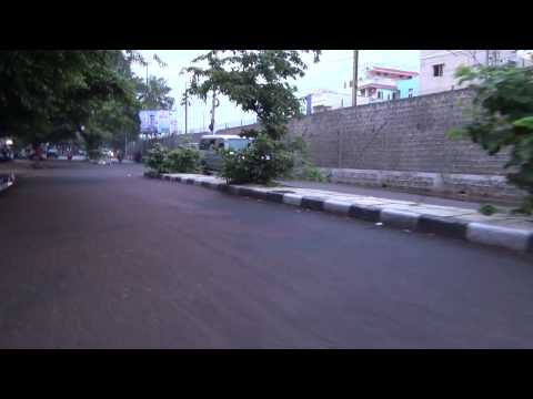 Hyderabad Roads In Rainy Season | Cool Climate After Rain