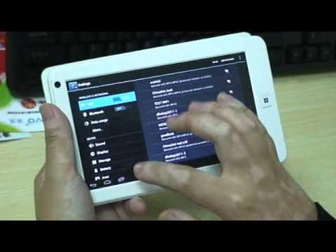 McBub.com - Teclast P76Ti Tablet Ships with Android 4.0 ICS