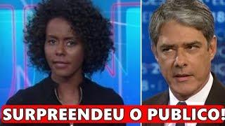 Apresentadora do Jornal Nacional, Maju Coutinho surge em momento raro e detalhe chama a atenção.