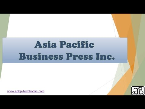 Asia Pacific Business Press Inc
