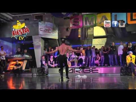 FIESTA TV – DA BALLANDO CON LE STELLE MAYKEL FONTS IN UNA RUMBA CUBANA