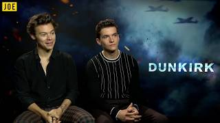 """Harry Styles reveals his love for his Grandad & thinks Conor McGregor is """"WILD!"""""""