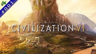 Sid Meiers Civilization VI Gameplay #1 خلينا نجرب لعبه الحضارات