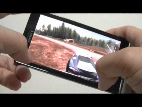 Review Sony XPERIA P Game Test by @happymanth @PDAMobiz