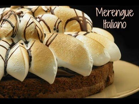 Como hacer merengue Italiano para decorar Tortas