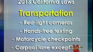 New California Laws on Education, Transportation, & Consumers