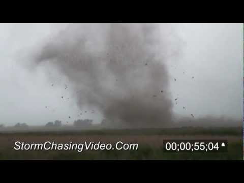5/25/2012 Walker, KS Tornadoes stock footage archive