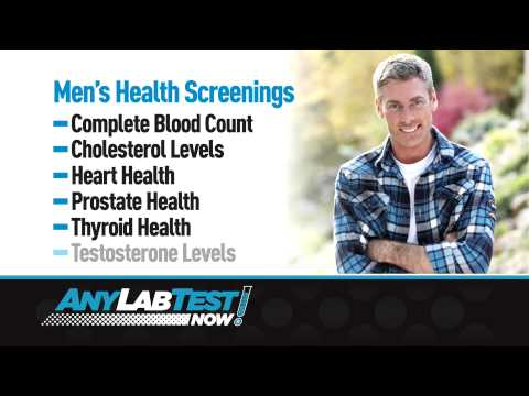 Heart Health, Prostate Health, Thyroid Health, Cholesterol Levels and Testosterone Levels