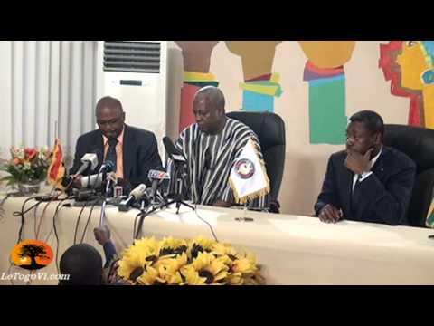 Toute la communauté internationale regarde le Togo. Nous espérons que le cas du Nigeria se repetera