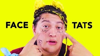 D.I.Y. Face Tattoos | Cheap Thrills